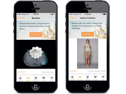 Orange Harp, smartphone apps, online tools, eco-fashion, sustainable fashion, green fashion, ethical fashion, sustainable style, eco-friendly beauty, eco-beauty, sustainable beauty, organic beauty, Anbu Anbalagapandian, iPhone, iPad, eco-fashion tools, Kacie Gonzalez