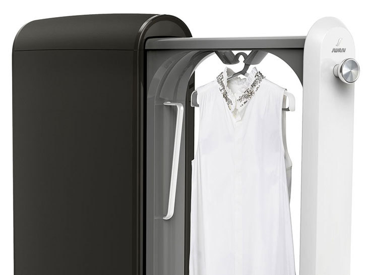 "P&G, Whirlpool's ""Swash"" System Freshens Clothing in Minutes"