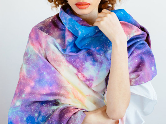 Slow Factory, Hubble Space Telescope, NASA, National Aeronautics and Space Administration, NASA photography, space, made in the U.S.A., eco-fashion, sustainable fashion, green fashion, ethical fashion, sustainable style, Celine Semaan Vernon, Mars, eco-friendly scarves, sustainable scarves