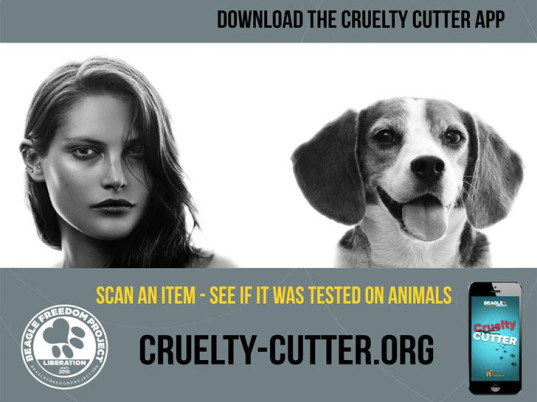Cruelty Cutter, Beagle Freedom Project, animal testing, animal welfare, animal rights, animal cruelty, cruelty-free makeup, cruelty-free cosmetics, eco-friendly cosmetics, sustainable cosmetics, eco-friendly makeup, sustainable makeup, eco-beauty, eco-friendly beauty, sustainable beauty, smartphone apps, smartphones