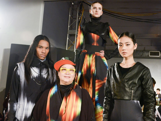 Epson, Digital Couture, digital printing, digital printers, eco-fashion, sustainable fashion, green fashion, ethical fashion, sustainable style, New York Fashion Week, Fall/Winter 2015, wearable technology