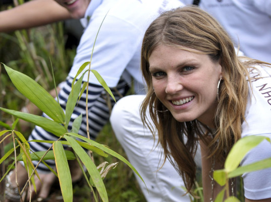 Angela Lindvall, green models, eco-models, eco-friendly models, sustainable models, Natural Resources Defense Council, Clean by Design, NRDC, eco-fashion, sustainable fashion, green fashion, ethical fashion, sustainable style