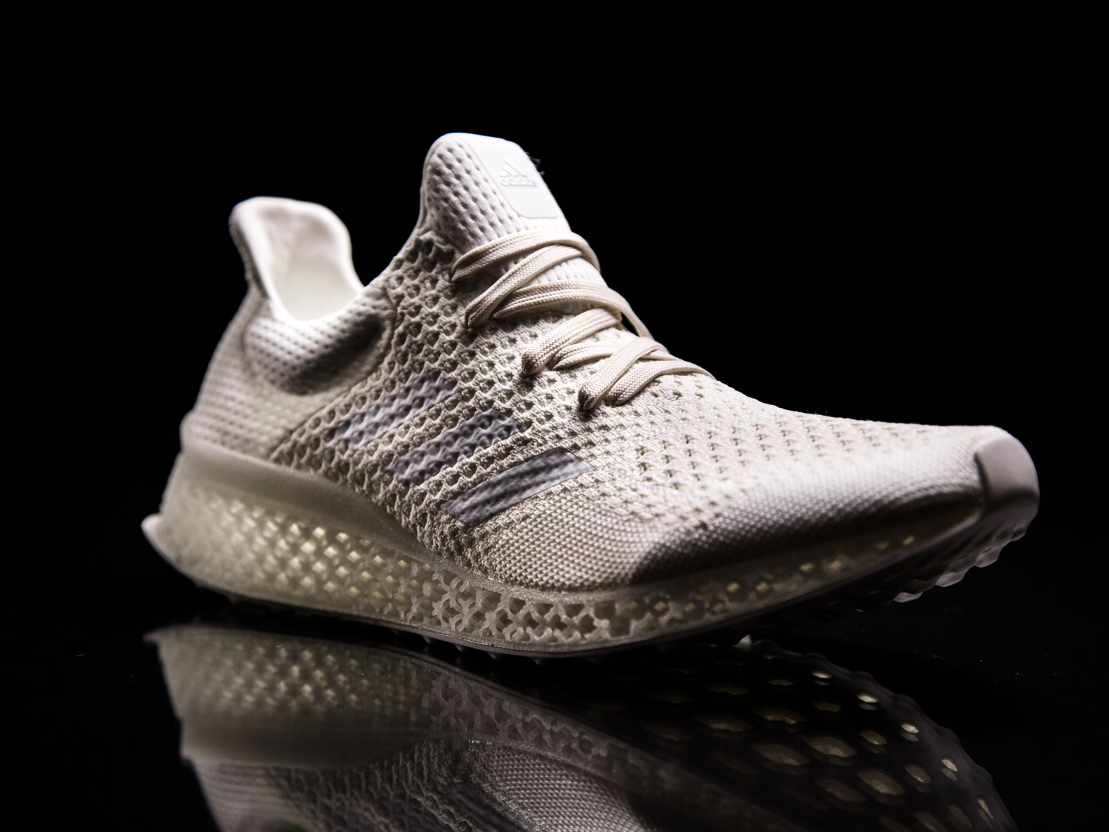 Adidas Introduces Running Shoe With 3D-Printed Materials