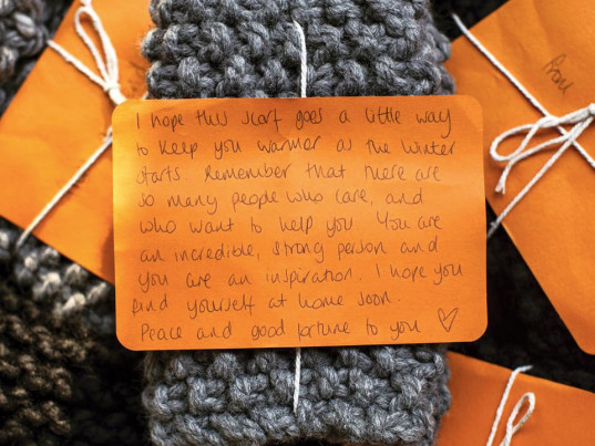 Knit Aid, fashion philanthropy, knitting, Wool and the Gang, eco-fashion, sustainable fashion, green fashion, ethical fashion, sustainable style, Shahnaz Ahmed