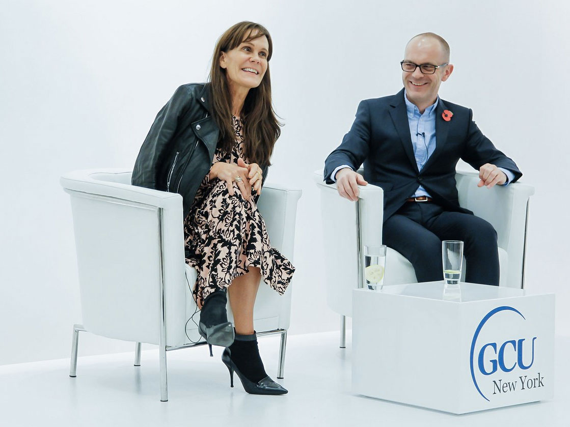 Sustainable Fashion In Nyc - Julie gilhart and simon collins people want great fashion
