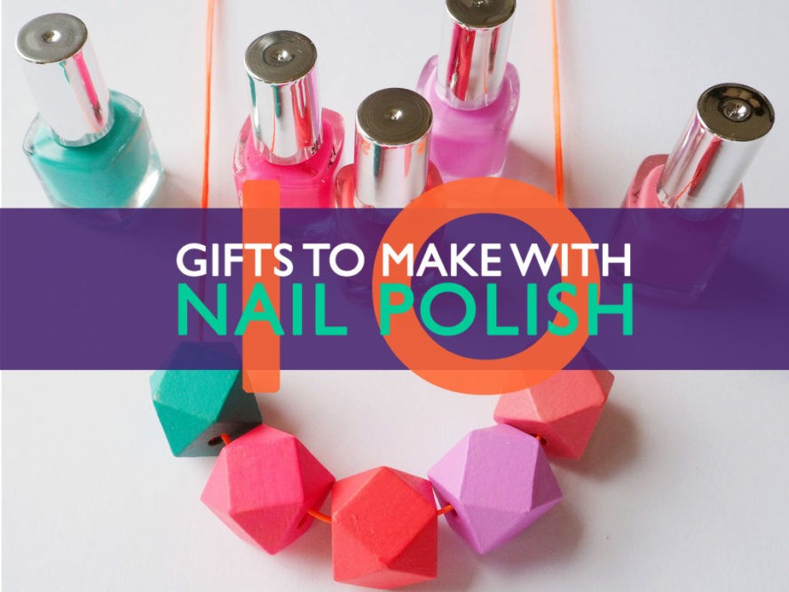 Diy nail polish crafts ecouterre for Diy shoes with nail polish