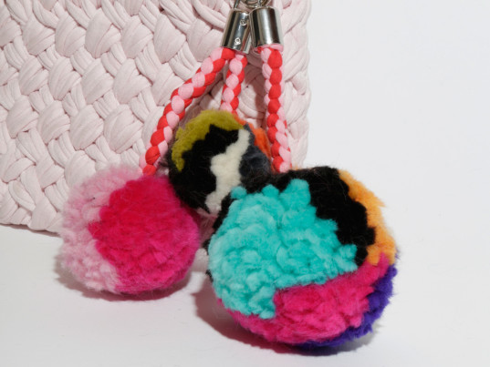 Wool and the Gang, DIY tutorials, DIY fashion DIY gifts, eco-fashion, sustainable fashion, green fashion, ethical fashion, sustainable style, eco-friendly keychains, sustainable keychains, DIY keychains, eco-friendly key rings, sustainable key rings