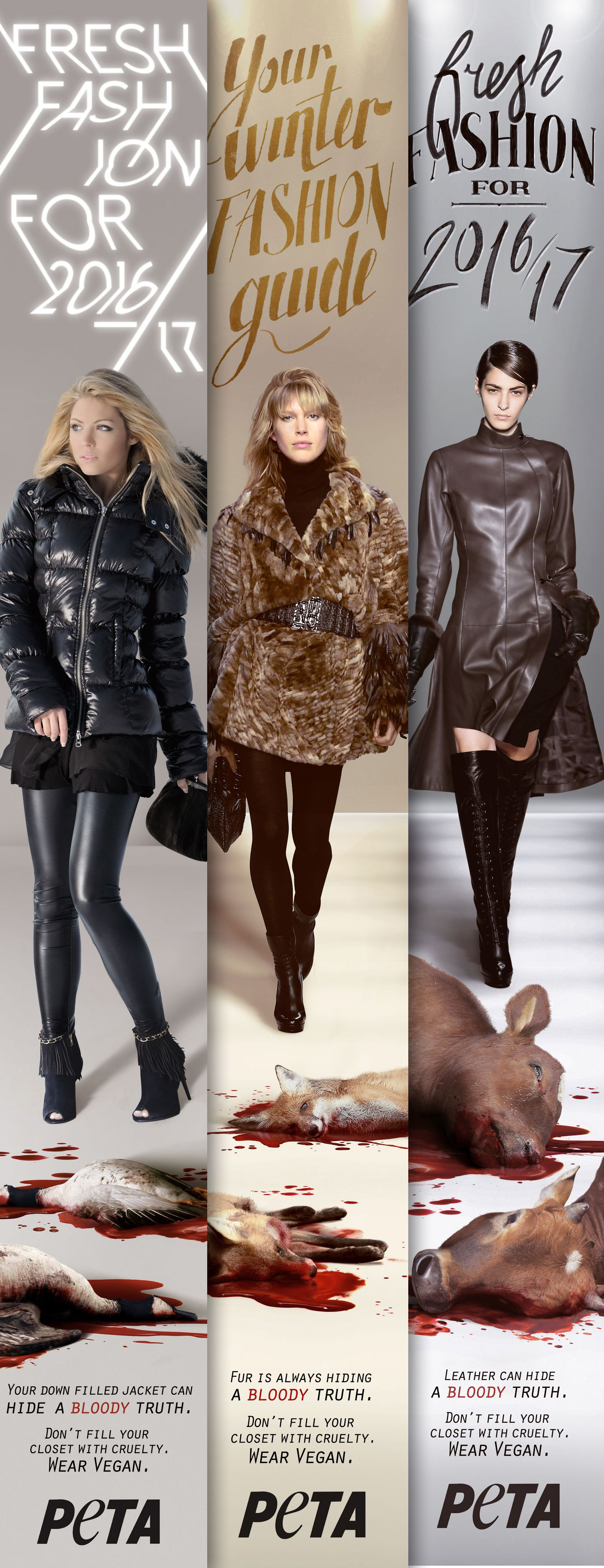 Pinterest, People for the Ethical Treatment of Animals, PETA, fur, animal fur, down, animal leather, leather, eco-fashion, sustainable fashion, green fashion, ethical fashion, sustainable style, London Fashion Week, fashion activism, animal cruelty, animal rights, animal welfare, social media
