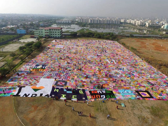 Guinness World Records, Guinness Book of World Records, crocheting, eco-fashion, sustainable fashion, green fashion, ethical fashion, sustainable style, Mother India's Crochet Queens