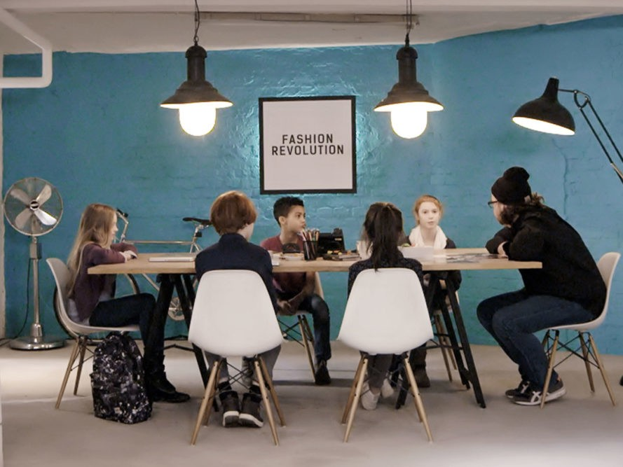 Video five children from berlin ask fashion companies for for Fashion jobs berlin