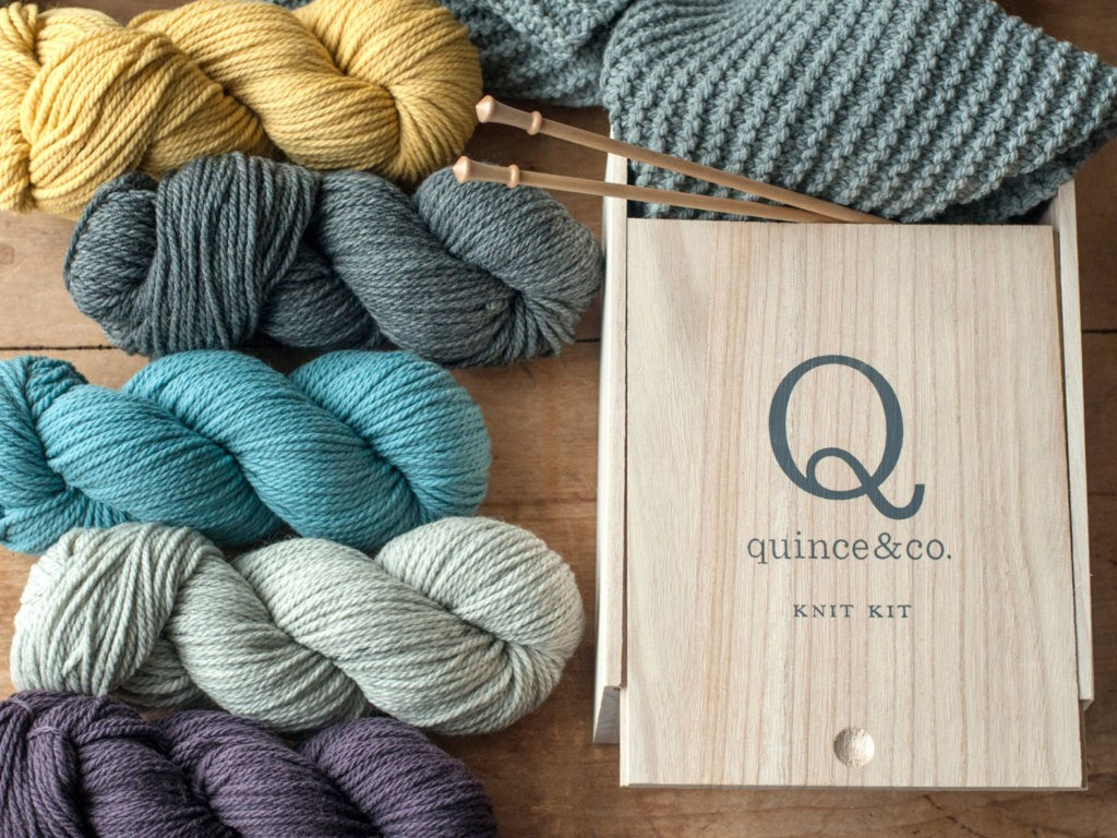 Beginner Knitting Kits Canada : Learn to knit with quince co s gorgeous beginner kit