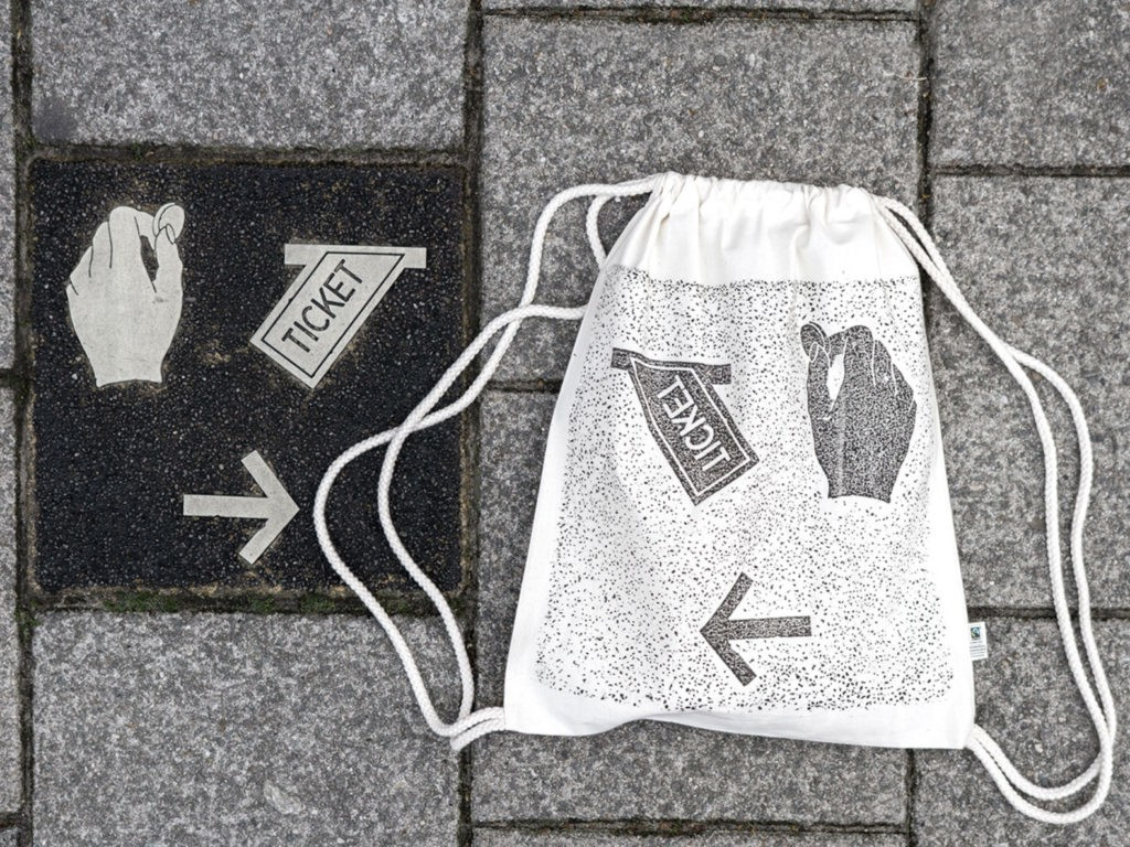 826d5022 Berlin Artists Use Manhole Covers, Utility Grates to Relief-Print Textiles  | Ecouterre