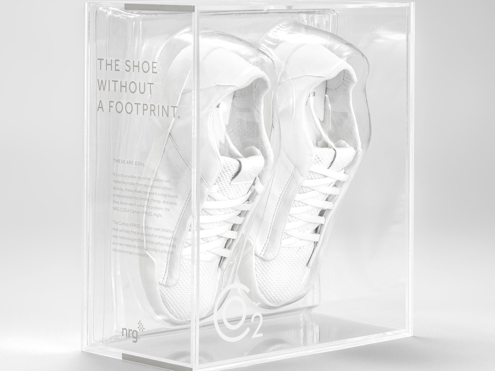 "Sneaker Made With Carbon Emissions is a ""Shoe Without a Footprint"""