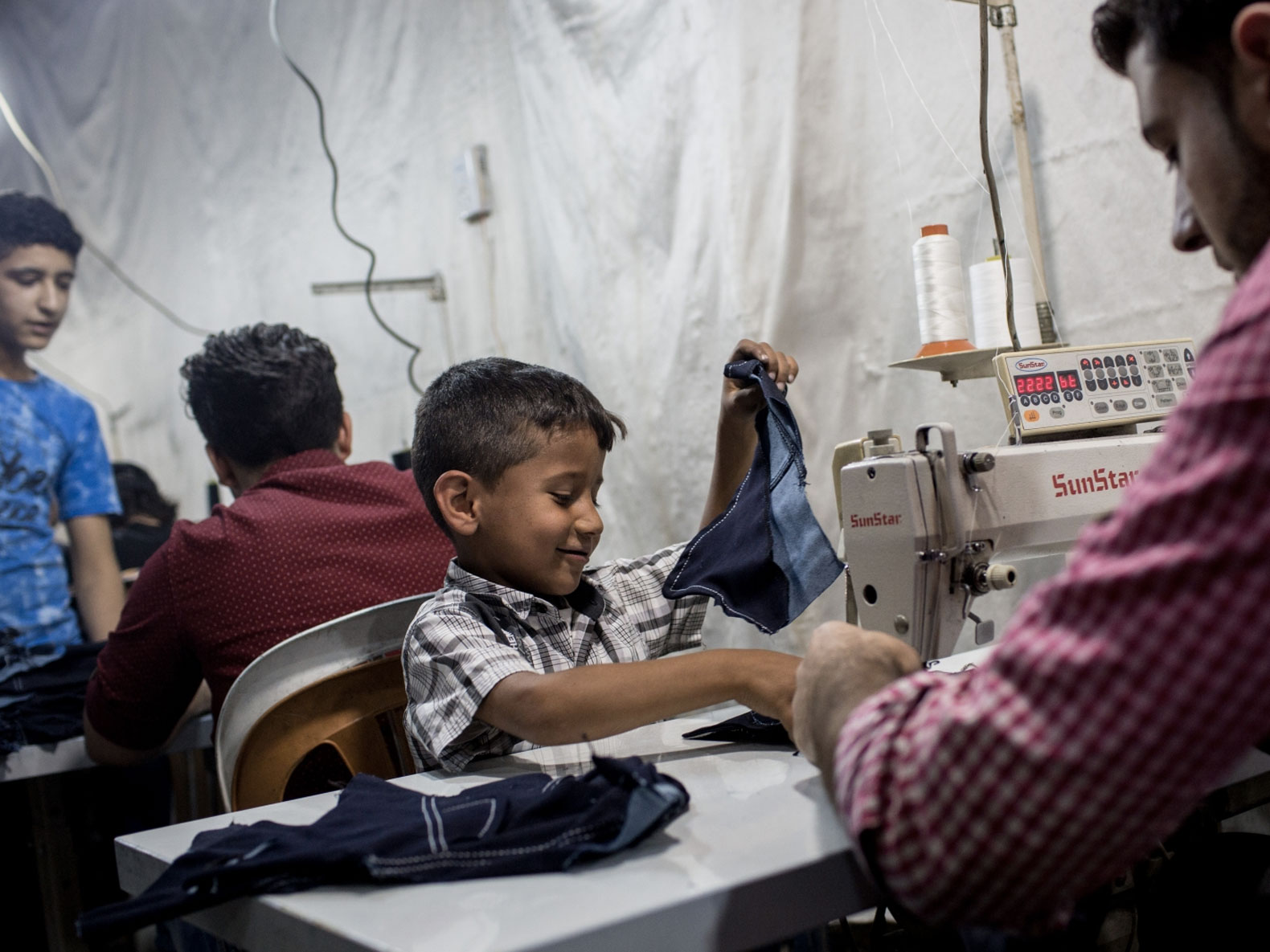 BBC Expos Reveals Child Refugees Making Clothes for ...