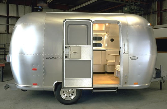 Airstream, Bambi, Christopher Deam, Prefab Friday, Designer Mobile Homes, Chic Mobile Home, Green Mobile Home
