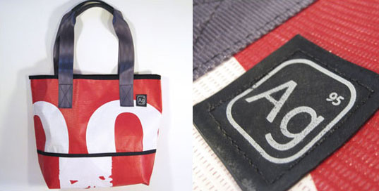 Alchemy Goods, recycled rubber bags, recycled billboard bags, Eli Reich, sustainable fashion, sustainable messenger bags, eco-friendly bags