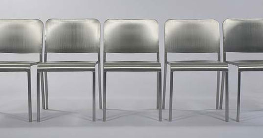 Norman Foster aluminum chair, Foster and partners aluminum chair, Emeco Aluminum chair, 20-06 Aluminum chair, 20-06 Chair-Limited Edition, Design Within Reach