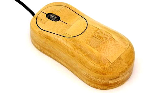 green mouse, sustainable mouse, bamboo gadget, bamboo gadgets, Bamboo Mouse