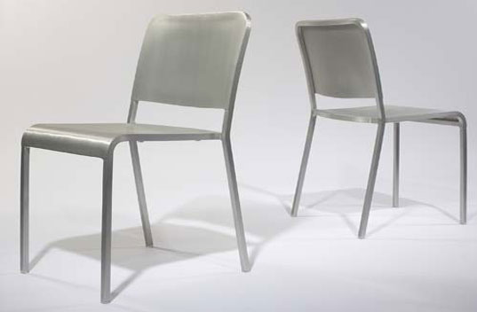 Emeco 20-06 Norman Foster Recycled Aluminum Chairs