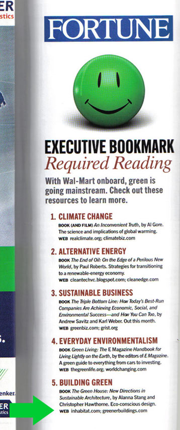 Fortune Executive Bookmark: Required reading
