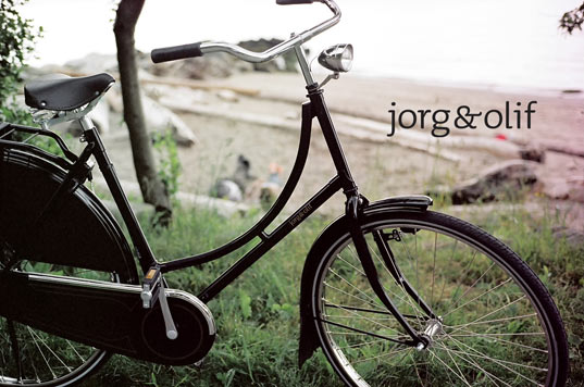 sustainable design, green design, transportation, bicycle, bike, cycling, jorg and olif city bike