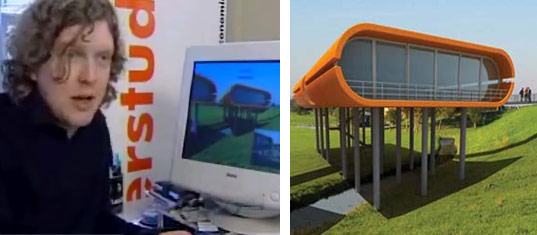 Waterstudio, Waterstudio.nl, Koen Olthuis, amphibious house, houseboat, floating house, flood resistant houses, Koen Olthuis