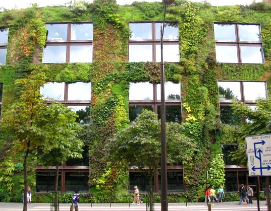 Patrick Blanc, Le Mur Vegetal, Vertical Garden, Musée du quai Branly, Quai Branly Museum, Living Wall, Jean Nouvel, Paris, France, Green Wall Living Architecture