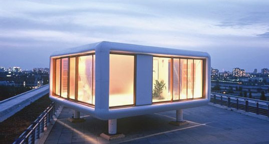Loftcube, Werner Aisslinger, Rooftop Prefabs, LoftCube, LoftCube house, rooftop housing, top 5 prefab, prefab house, small prefab, tiny prefab, tiny home, Prefab Housing, Prefab Friday, Prefab