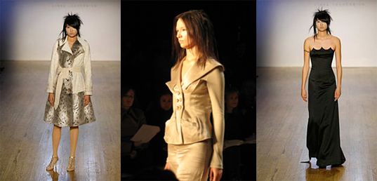 fall fashion week 2007, linda loudermilk, green, eco, sustainable, organic, style, design