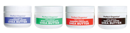 Perfect Organics Shea Butter, Perfect Organics, organic body products, organic cosmetics, vegan cosmetics