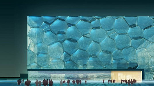 PTW, WaterCube, 2008 Olympics Building, Bubble Building, Beijing Building, National Swimming Center