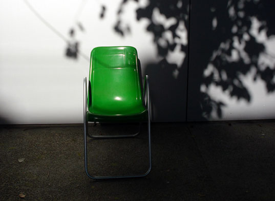 Stella Chair, recycled furniture, Mexican bus chair, sustainable furniture