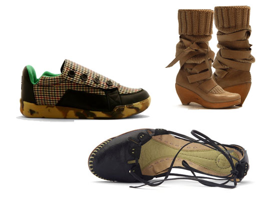 Terraplana, Terra Plana, Galahad Clark, Charles Bergman, Eco-friendly shoes, Worn Again, recycled material shows, environmentally friendly shoes