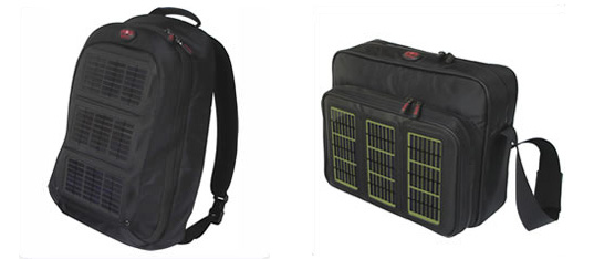 Voltaic solar power backpack