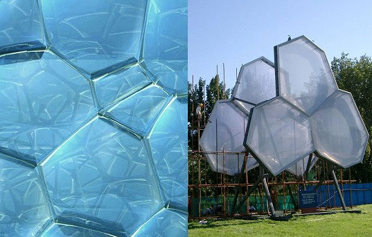 WaterCube, PTW Architecture, 2008 Olympics, National Swimming Center, Beijing Building, Bubble Building, WaterCube Detail