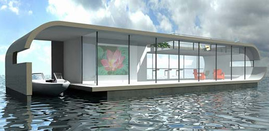 Koen Olthuis, Waterstudio, Waterstudio.nl, amphibious houses, floating house, houseboat, water house, flood proof housing